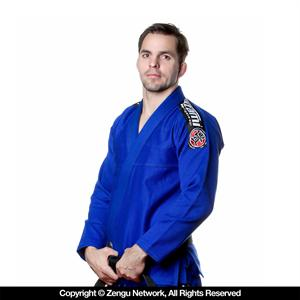 Tatami Nova Blue Jiu Jitsu Gi with Free White Belt